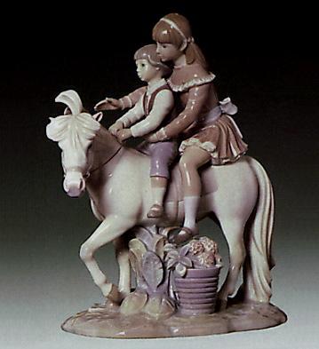 Ride On Little Horse Lladro Figurine