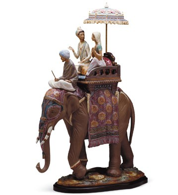 Road To Mandalay Lladro Figurine