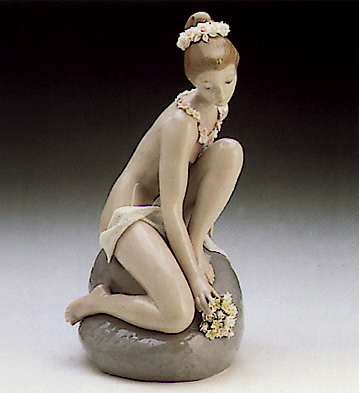 Rock Nymph Lladro Figurine