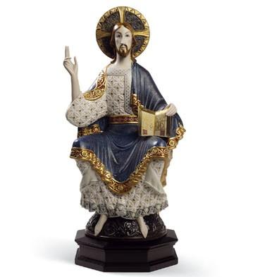 Romanesque Christ Lladro Figurine