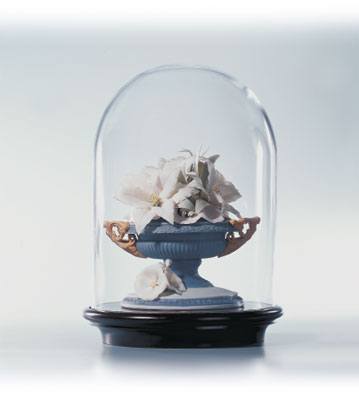 Romantic Vase (blue) Lladro Figurine