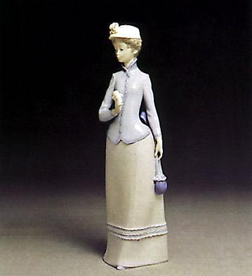 Rose Lady Lladro Figurine