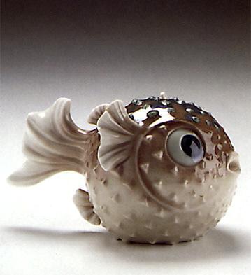 Round Fish Lladro Figurine