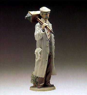 Roving Photographer Lladro Figurine
