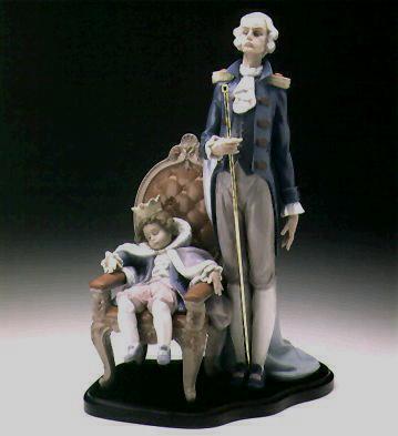 Royal Slumber L.e.b. Lladro Figurine