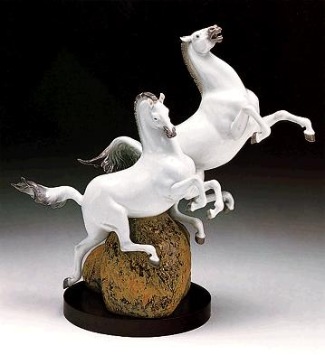 Running Free Lladro Figurine