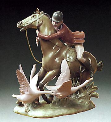 Running Lladro Figurine