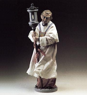 Sacristan Lladro Figurine