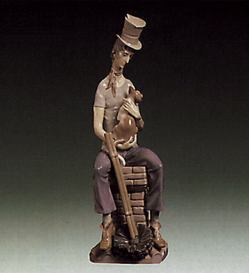 Sad Chimney-sweeper Lladro Figurine