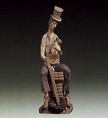 Sad Chimney-sweeper Lladro Figurine