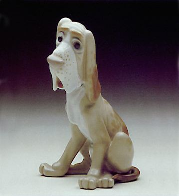 Sad Dog Lladro Figurine