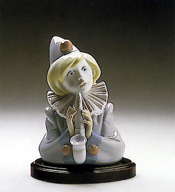 Sad Note(b) Lladro Figurine