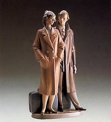 Sad Parting Lladro Figurine