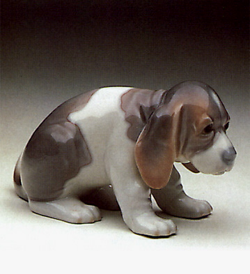 Sad Puppy Lladro Figurine