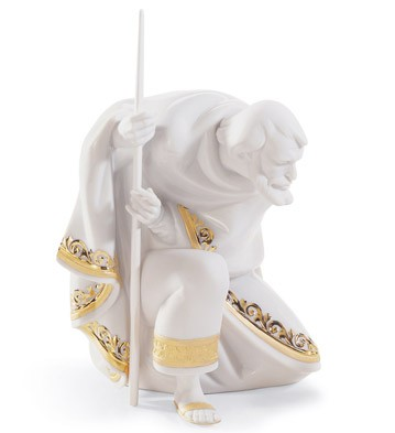 Saint Joseph (re-deco) Lladro Figurine