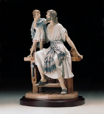 Saint Joseph The Carpente Lladro Figurine