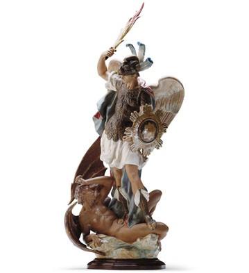Saint Michael (l.e.) (b) Lladro Figurine