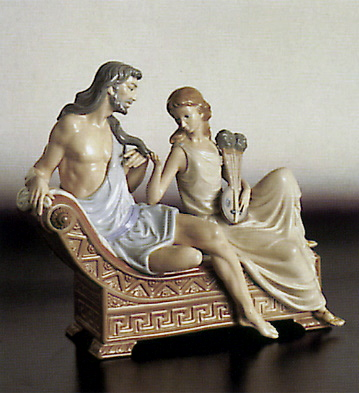 Samson And Delilah Lladro Figurine