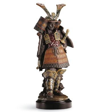 Samurai Lladro Figurine
