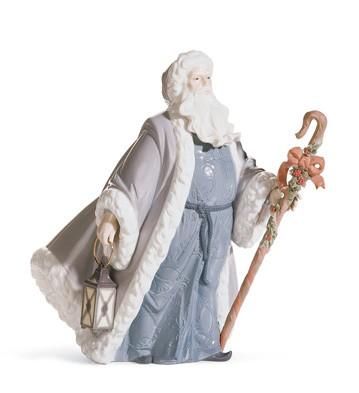 Santa Claus Messenger Lladro Figurine