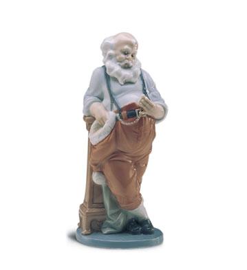 Santa's Busiest Hour Lladro Figurine