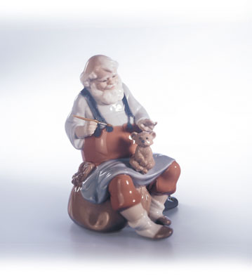 Santa's Magic Touch Lladro Figurine