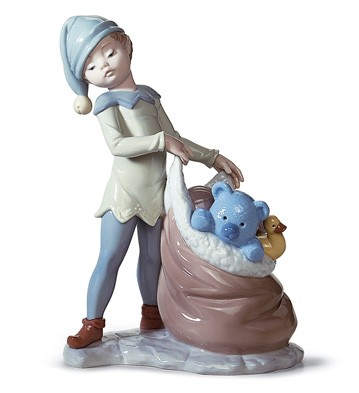 Santa's Sack Of Dreams Lladro Figurine