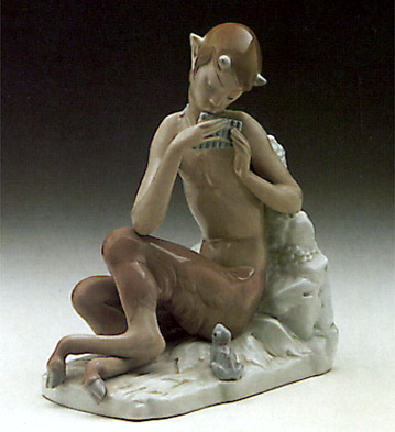 Satyr With Frog Lladro Figurine