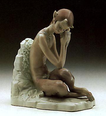 Satyr With Snail Lladro Figurine