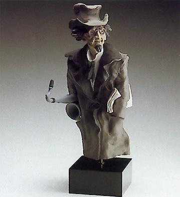 Saxofone Player(b) Lladro Figurine