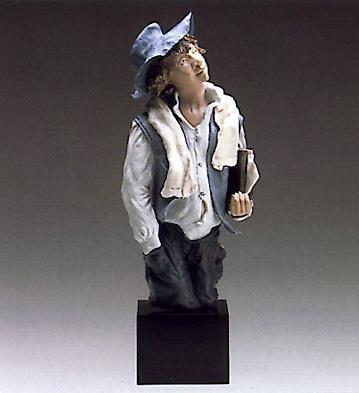 School Boy (b) Lladro Figurine