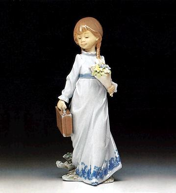 School Days Lladro Figurine