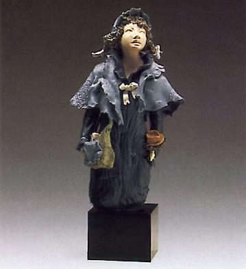 School Girl(b) Lladro Figurine