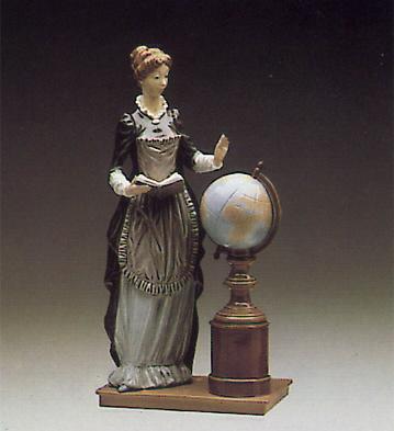 School Marm Lladro Figurine