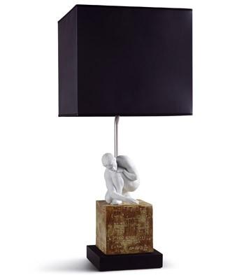 Scientia - Lamp (us) Lladro Figurine