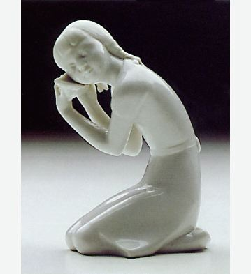 Sea Shell White Lladro Figurine