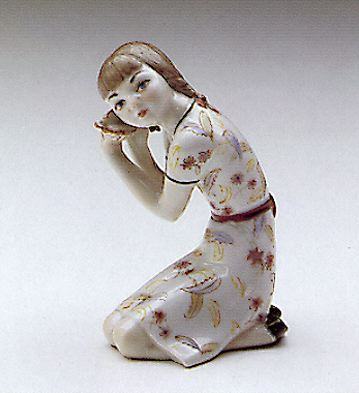 Sea Shell Lladro Figurine