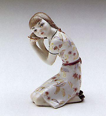 Sea Shell Lladro Figurine