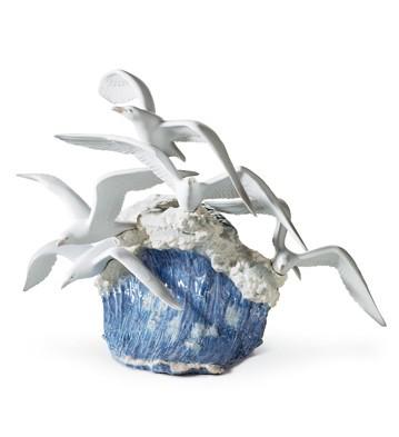 Seagulls In Flight Lladro Figurine