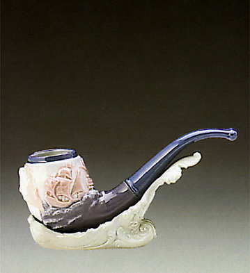 Sealore Pipe Lladro Figurine