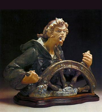 Seaman -b- Lladro Figurine