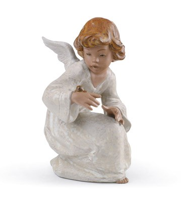 Seaside Angel Lladro Figurine