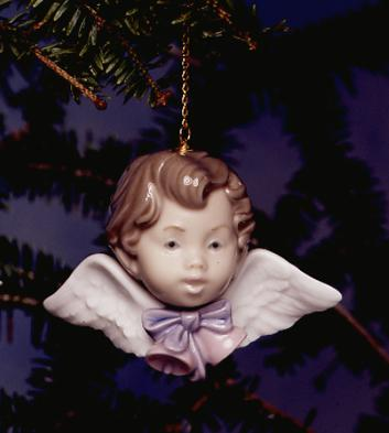 Seraph With Bells Lladro Figurine