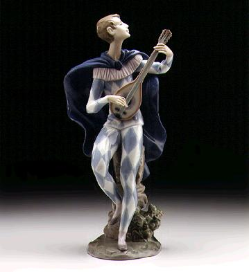 Serenading Colombina Lladro Figurine