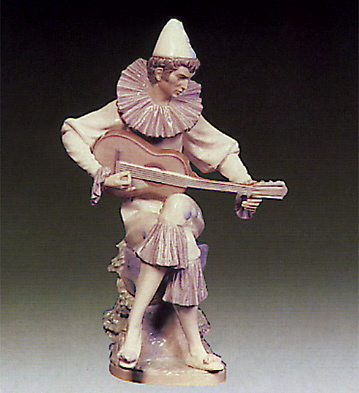 Serious Clown Lladro Figurine
