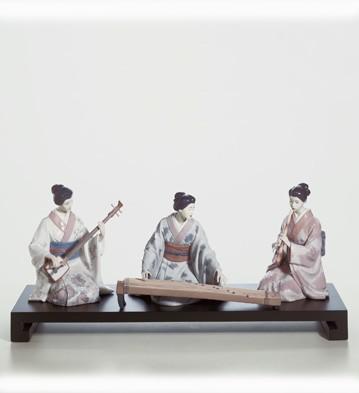 Set Japanese Players Lladro Figurine