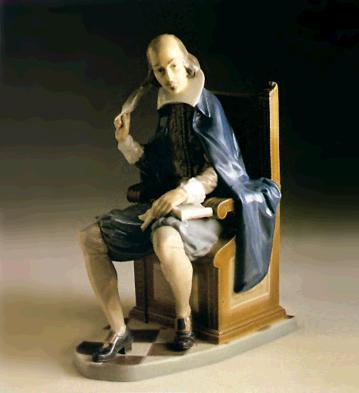 Shakespeare (l.e.) Lladro Figurine