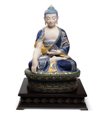Shakyamuni Buddha (golden) Lladro Figurine