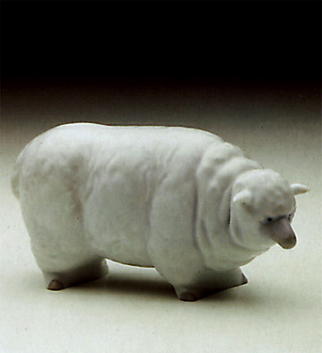 Sheep Lladro Figurine