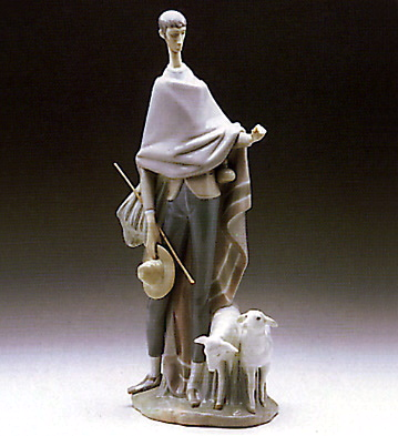 Shepherd Lladro Figurine